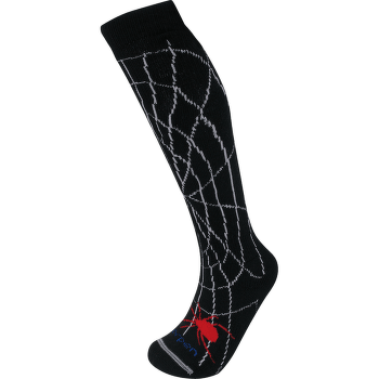 Merino Ski Kids - SKS spidey black