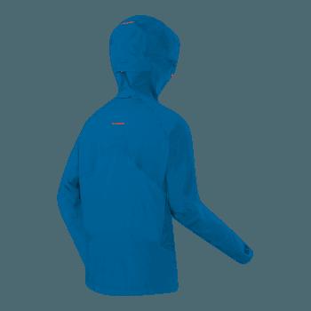 Nordwand Pro HS Hooded Jacket Men cyan-dark cyan 5359