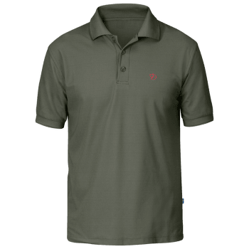Crowley Pique Shirt Men Mountain Grey