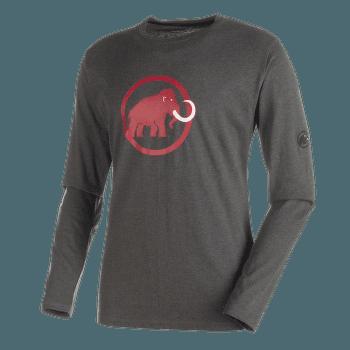 Mammut Logo Longsleeve Men (1041-07081) graphite mélange 0397