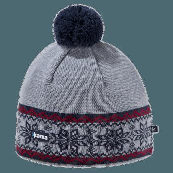 A116 Knitted Beanie grey