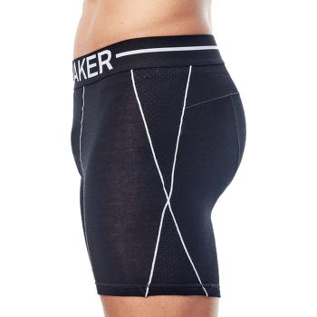 Anatomica Zone Long Boxers Men Black/White
