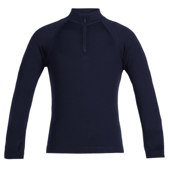 Tech LS Half Zip Kids Midnight Navy