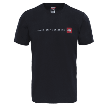 Never Stop Exploring Tee Men TNF BLACK