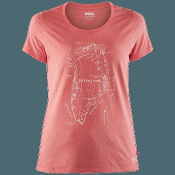 Greenland Printed T-Shirt Women Peach Pink
