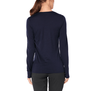 Tech Lite LS Low Crewe Landscape Lines Women Midnight Navy