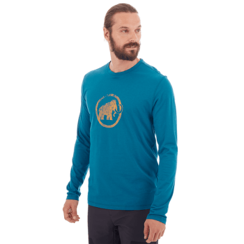 Mammut Logo Longsleeve Men (1016-00530) sapphire 50226