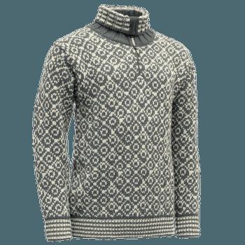 Svalbard Sweater Zip-Neck Men 435A Turbulence