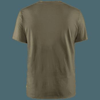 Arctic Fox T-Shirt Men Dark Olive