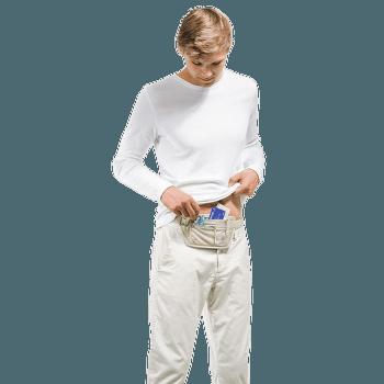 Security Money Belt I RFID Block sand