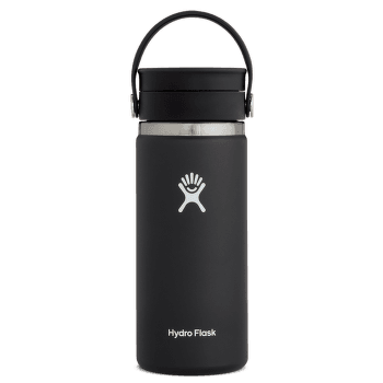 Wide Mouth with Flex Sip Lid 16 oz 001 Black