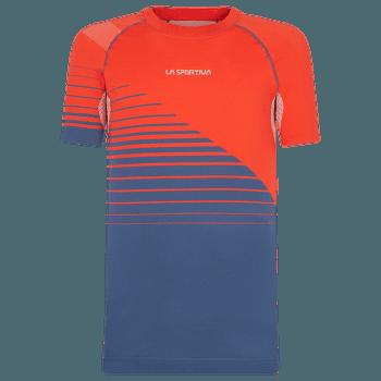 Complex T-Shirt Men Poppy/Opal