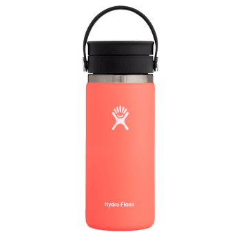 Wide Mouth with Flex Sip Lid 16 oz 650 Hibiscus