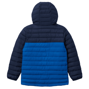 Powder Lite™ Hooded Jacket Boys Bright Indigo, Collegiate Navy 432