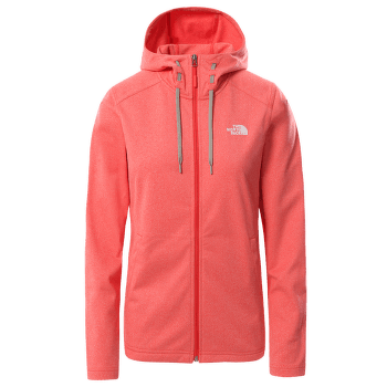 Tech Mezzaluna Hoodie Women Horizon Red Heather