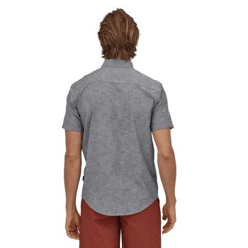 LW Bluffside Shirt Men Chambray: Ink Black