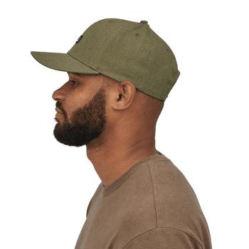 Tin Shed Hat P-6 Logo: Fatigue Green