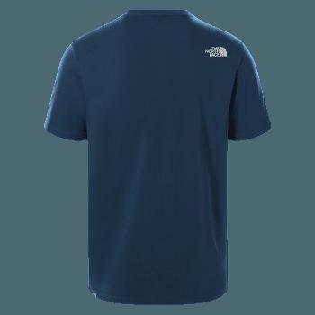 WoodCut Dome Tee S/S Men MONTEREY BLUE