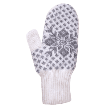 R13 Knitted Gloves off white 101