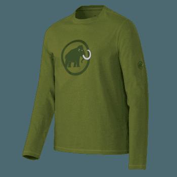 Mammut Logo Longsleeve Men seaweed melange