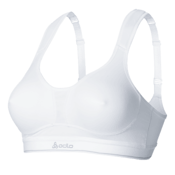 Sport Bra Medium Balance Women D Cup White