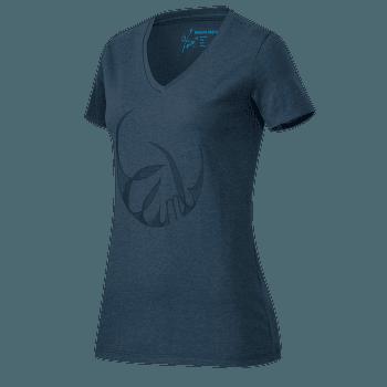 Zephira T-Shirt Women marine melange 5784
