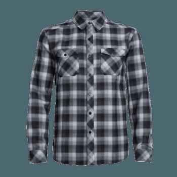 Lodge LS Flannel Shirt Men Gritstone HTHR/Black/Plaid