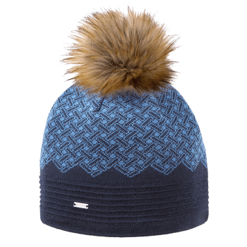 Knitted beanie A130 108 navy