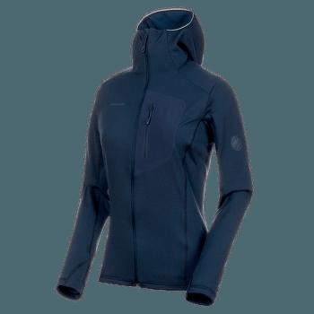 Aconcagua Light ML Hooded Jacket Women (1014-00700) peacoat melange