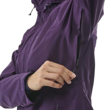 Grands Montets GTX Jacket Women BLACK BERRY