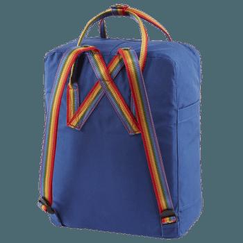 Kanken Rainbow Deep Blue-Rainbow Pattern
