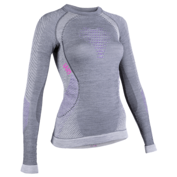 Fusyon UW Shirt LS Women Anthracite/Purple/Pink