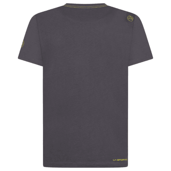 Cross Section T-Shirt Men Carbon/Kiwi