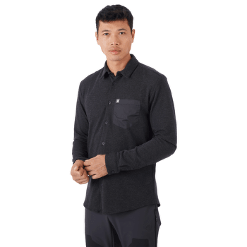 Yadkin Longsleeve Shirt Men black 0001