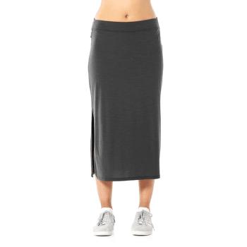 Yanni Midi Skirt Women Panther
