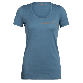 Tech Lite SS Scoop Single Line Camp Women BLUE SPRUCE
