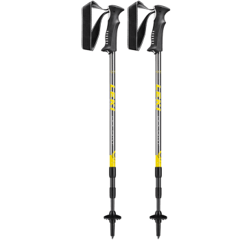 Dolomite Lite gunmetal-yellow-white