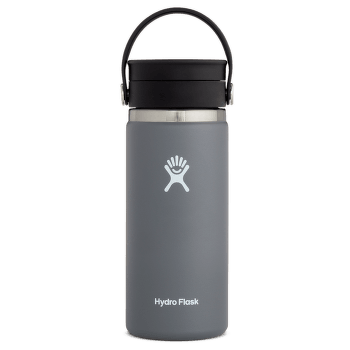 Wide Mouth with Flex Sip Lid 16 oz 010 Stone