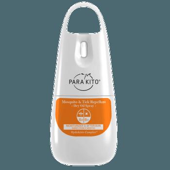 Suchý olej proti komárům a klíšťatům Bílá