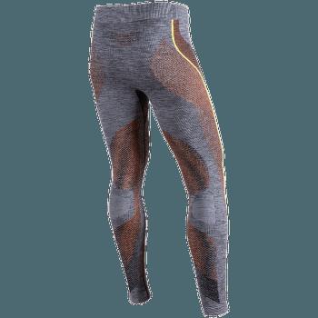 Ambityon UW Pants Long Melange Men Black Melange/Orange/Yellow