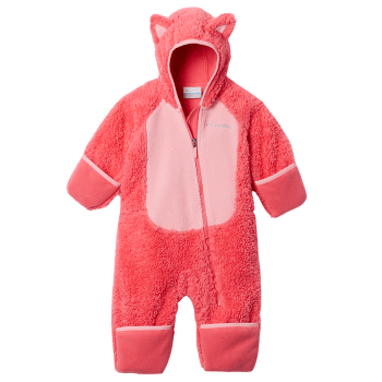 FOXY BABY™ Sherpa Bunting Bright Geranium, Pink Orchid 673