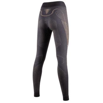 Cashmere Shiny UW Pants Long Women Celebrity Gold