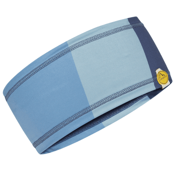 Diagonal Headband Night Blue/Mist