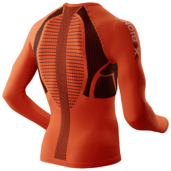 The Trick Running Shirt Men Orange/Black