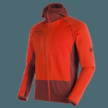 Aconcagua Pro ML Hooded Jacket Men Dark orange-maroon