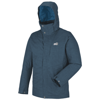 Lofoten Down Blend Parka Men HEATHER BLUE