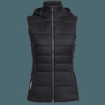 Stratus X Hooded Vest Women Black/Jet HTHR
