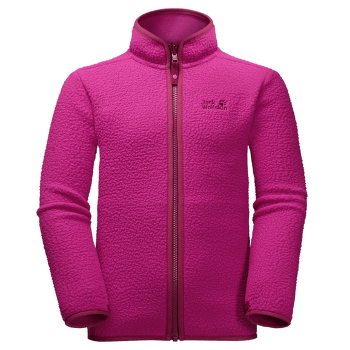 Black Bear Fleece Kids fuchsia 2047