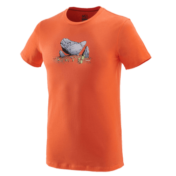 Boulder Dream T-Shirt SS Men VERMILLON
