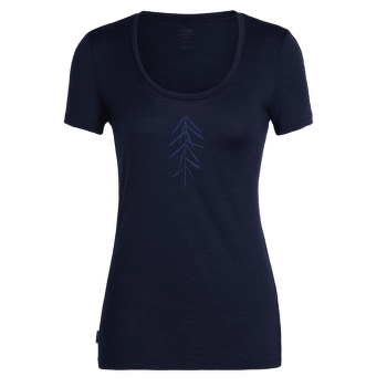 Tech Lite SS Scoop Lancewood Women Midnight Navy